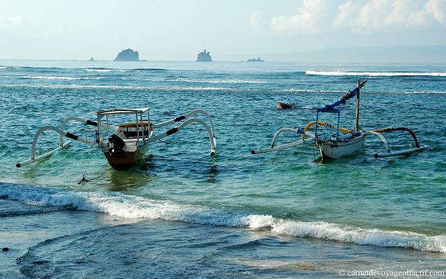Océan candidasa, Bali