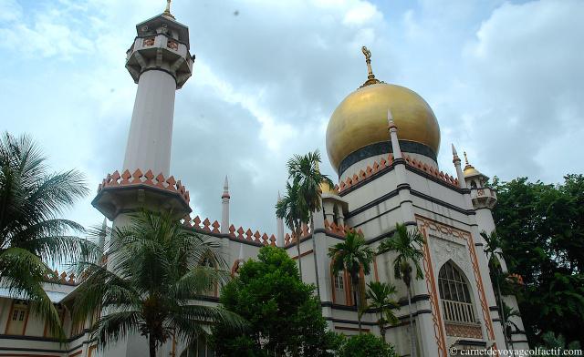 La mosquee du Sultan, Singapour