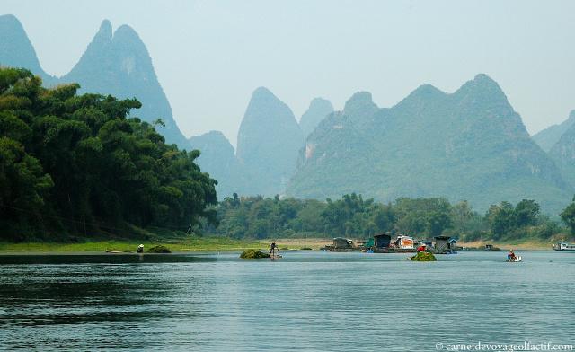 La vallee de la rivière Li