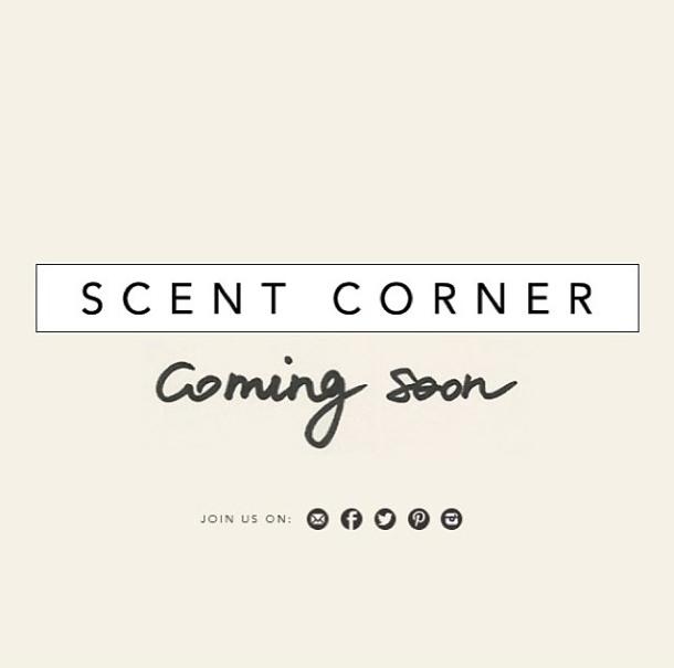 Scent Corner est en ligne!