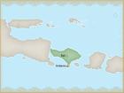Situer Bali et Jimbaran sur une carte