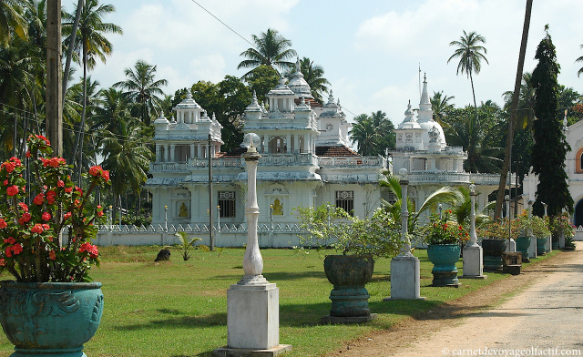 Temple bouddhiste sri lankais