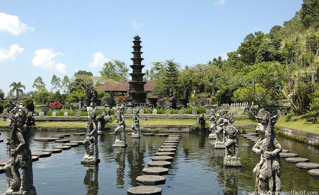 Promenade dans le jardin de tirta gangga bali carnet de for Les jardins de bali